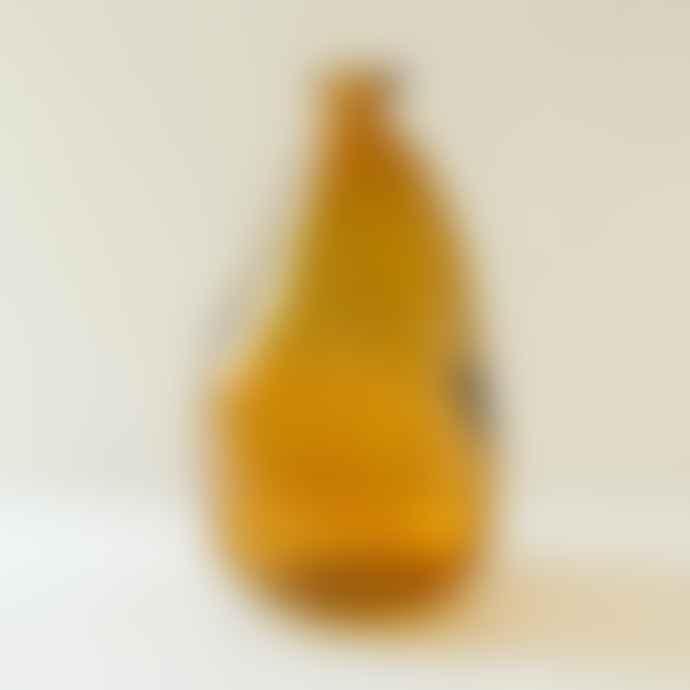 Berylune Recycled Glass Tall Bottle Vase