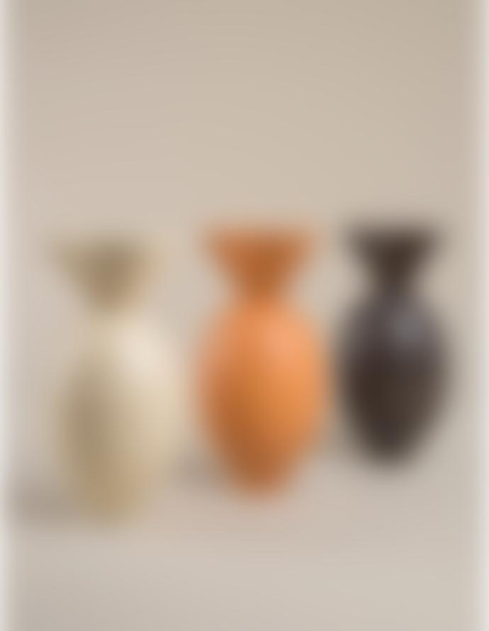 Los Objetos Decorativos Von Vase   Black