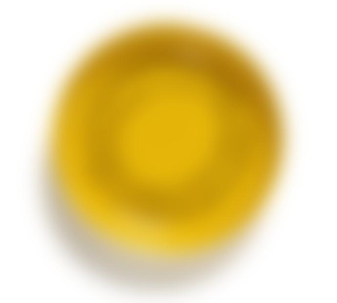 Serax Assiette Creuse Sunny Yellow Swirl-Dots Noir Feast  X2