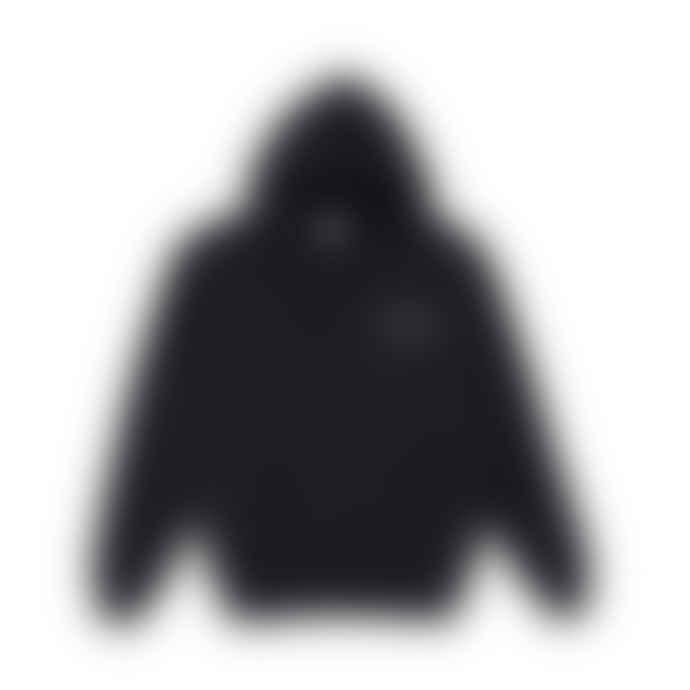 Polar Skate Co 3 Tone Fill Logo Hoodie Sweatshirt Black