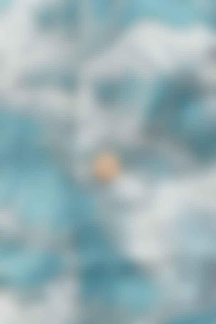 Scarti Lab Cotton Shirt Waves Blue