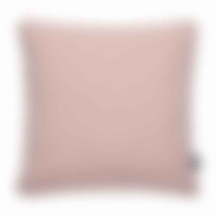 Pappelina Luxury Indoor Outdoor Cushion Sunny Design 44 X 44 Cm In Rose With White Trim