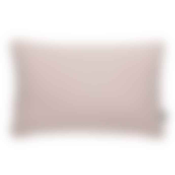 Pappelina Luxury Indoor Outdoor Cushion Sunny Design 38 X 58 Cm In Rose With White Trim