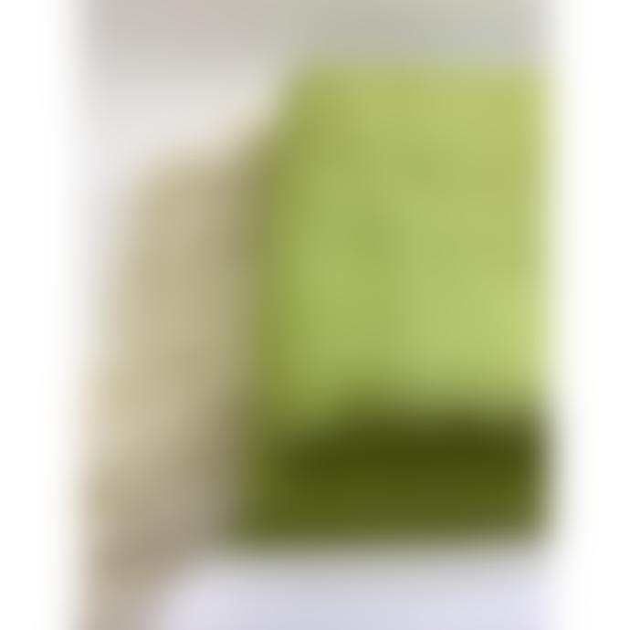 D&T Wolldecke Punto, hellgrün/beige, FB 10