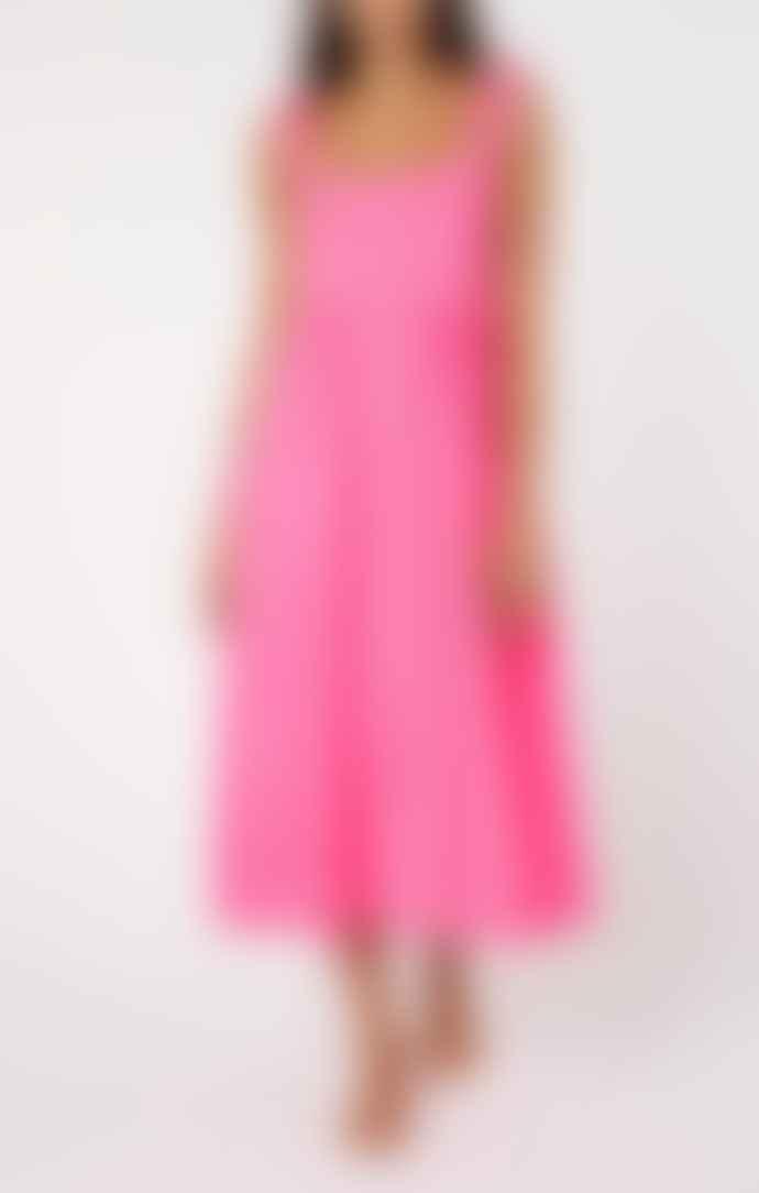 Juliet Dunn Pink Dress