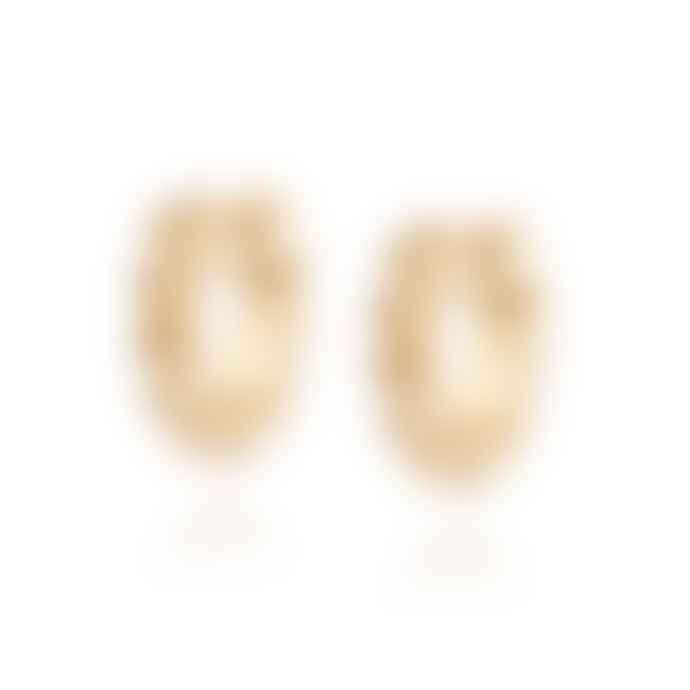 Daisy London Octavia Huggie Hoop Earrings