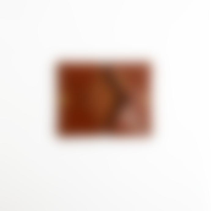 Hoff B Fold Card Case: Brown