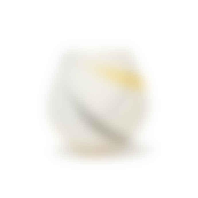 Ali Tomlin Small Round Yellow and Grey Splat Pot