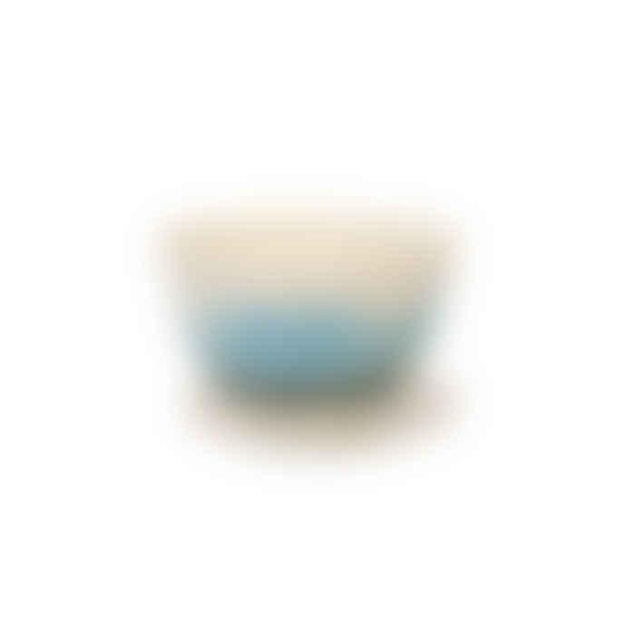 Ali Tomlin Two Tone Blues Porcelain Cup