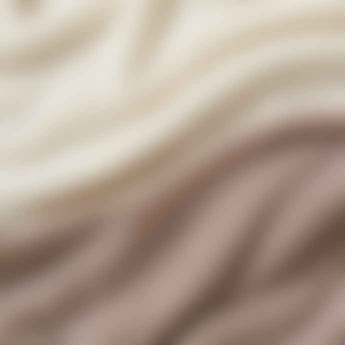 Pur Schoen Hand Felted Cashmere Soft Scarf Ombre Nougat-Natural
