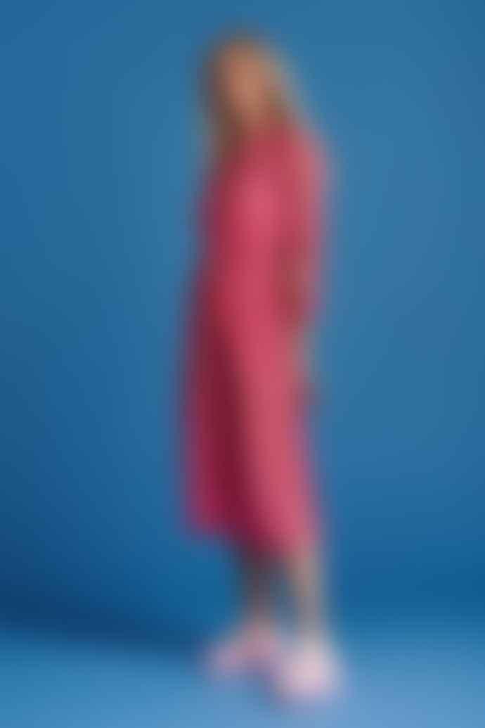 Pom Amsterdam Pink Strawberry Dress