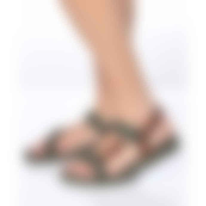 Cacatoes Manaus Fresia Sandals in Dark Khaki