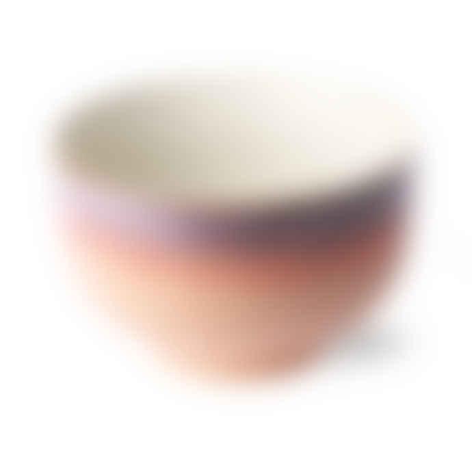 HKliving 70s Ceramics: Noodle Bowl, Sunset