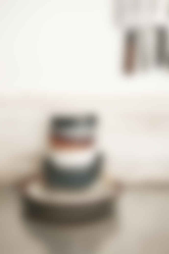 HKliving  70s Ceramics: Pasta Bowls, Moss (Set of 2)