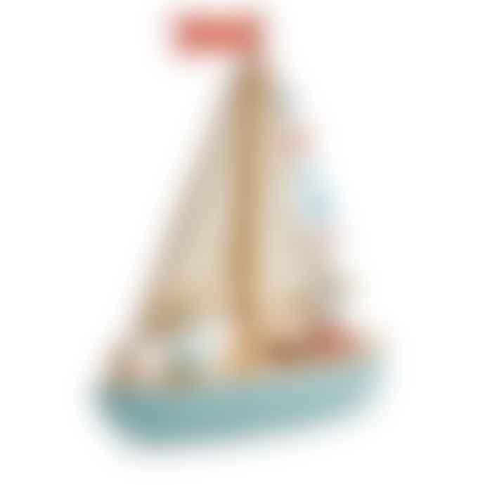 Tender Leaf Toys Sailaway Boat