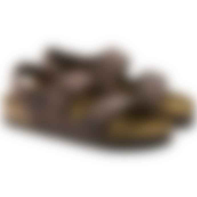 Birkenstock Milano Habana Oiled Leather Sandals