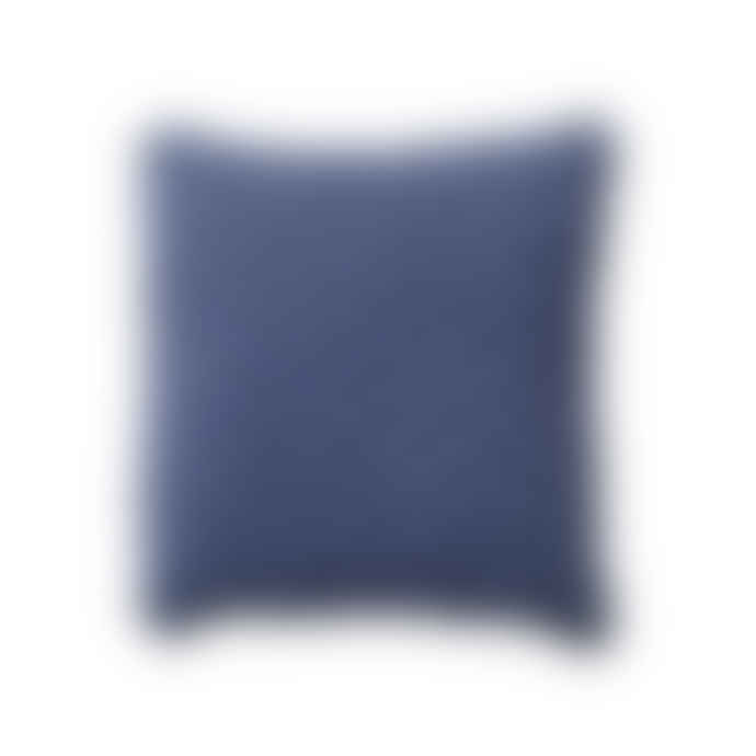 Goods of May Small Blue Navy Sidney Cushion