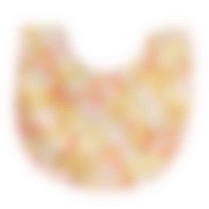 Alimrose Sweet Marigold Scallop Edge Bib
