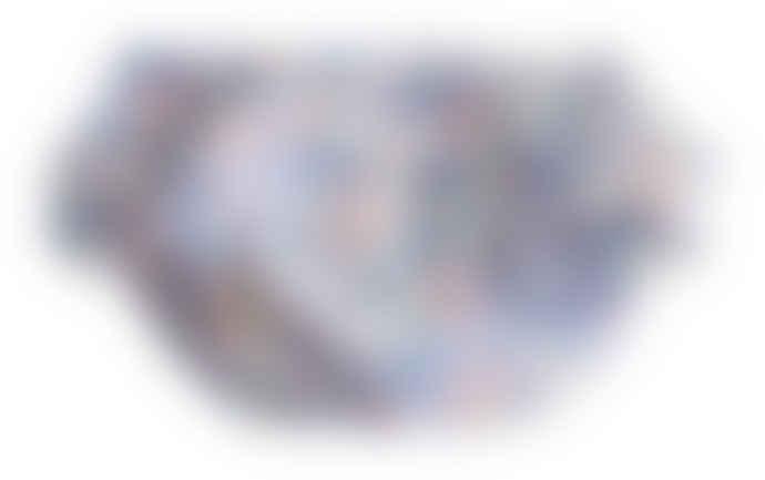 Alimrose Medium Liberty Blue Ruffle Bloomers