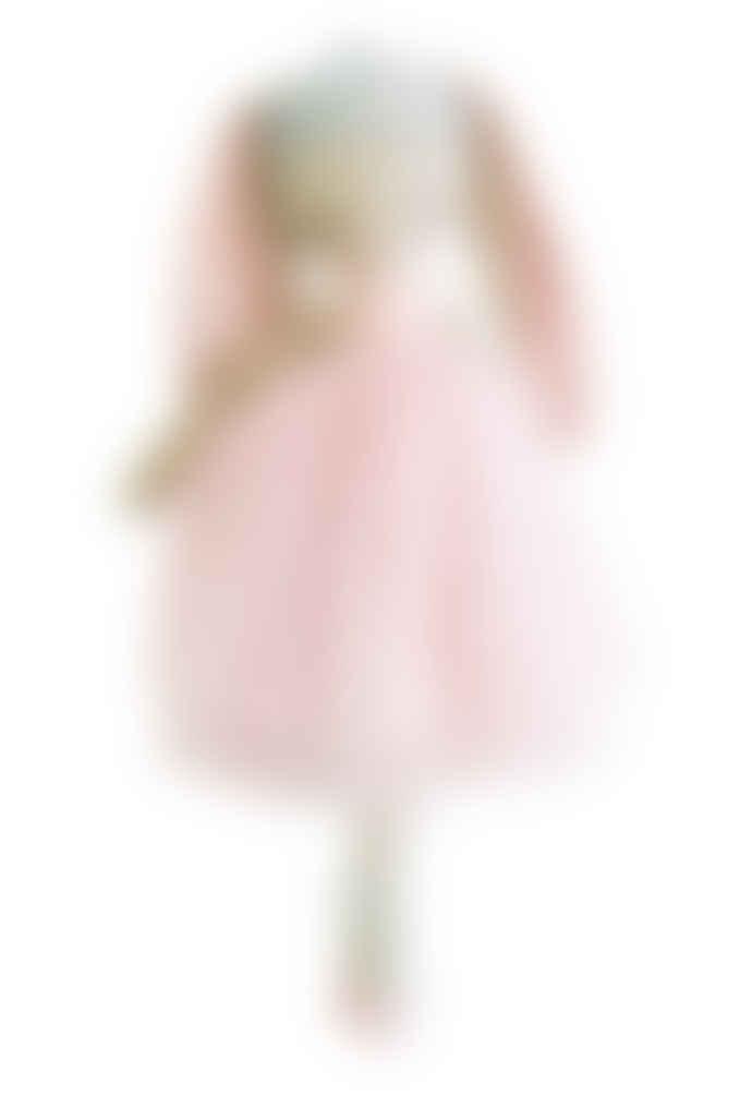 Alimrose 43cm Pink Billie Princess Bunny Toy