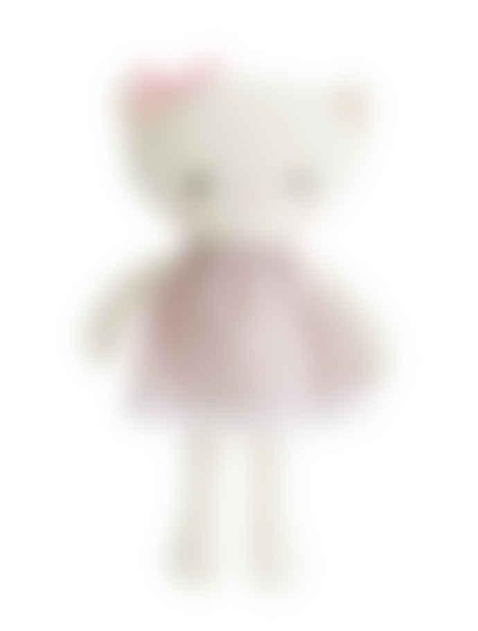 Alimrose 21cm Ditsy Floral Mini Kitty Doll