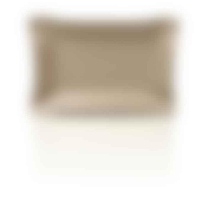 Bhome Lederablage Jack Rechteckig Taupe Grosse Large 20 X 30 Cm