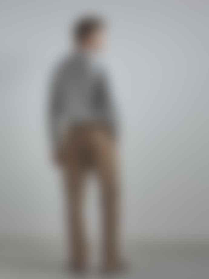 NN07 Luis Sweater In Gray