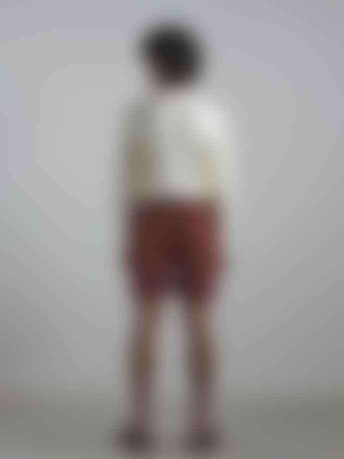 NN07 Luis Sweater In Off White