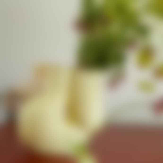 HAY W S Chubby Vase Soft Yellow