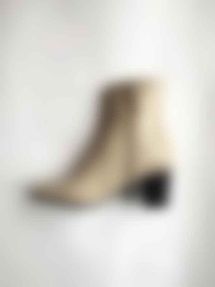 Collection & Co Beige Croc Boots