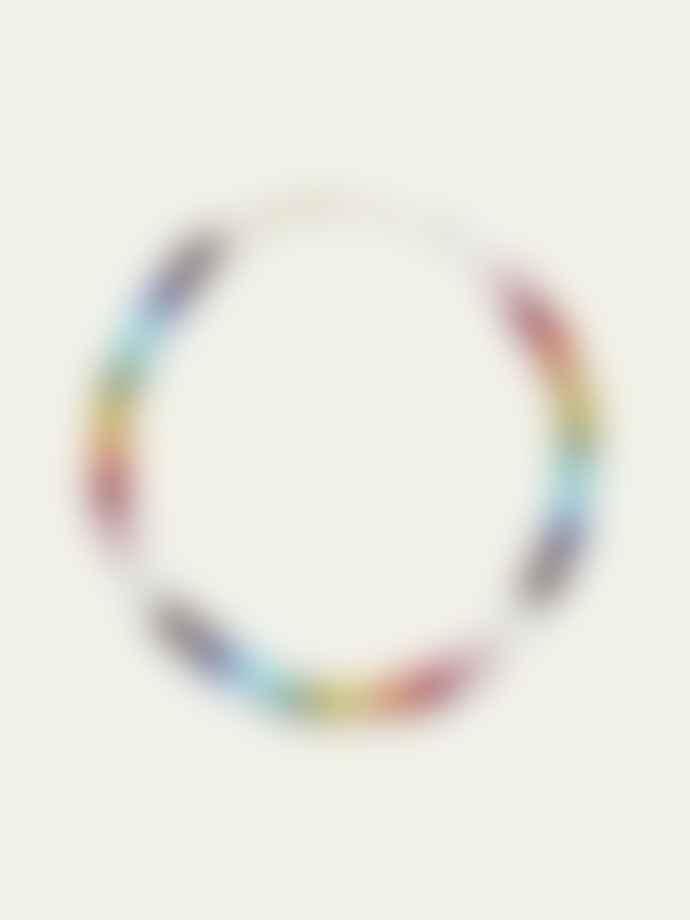 Anni Lu Big Nuanua Necklace Rainbow