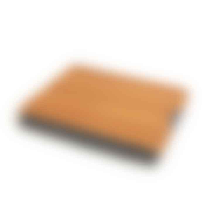 Bosign Lap Tray Large Antislip Teak Wood Tray With Salt Pepper Cushion