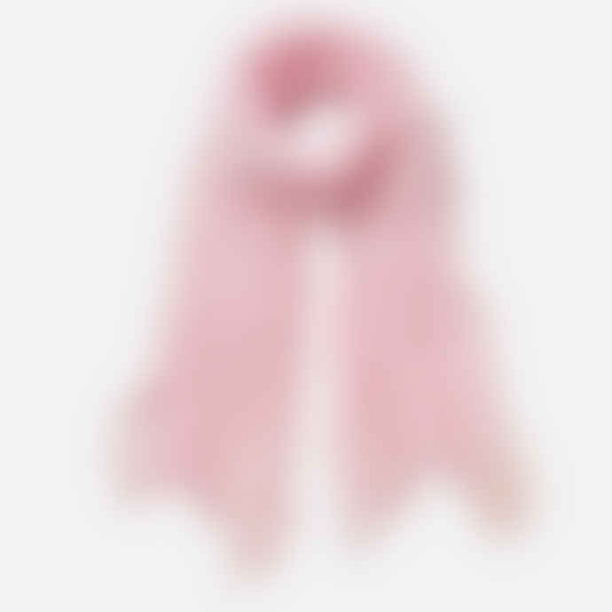 Pur Schoen Hand Felted Cashmere Soft Scarf  Rose