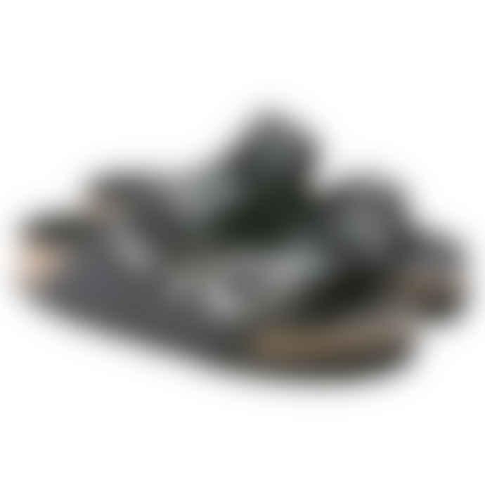 Birkenstock Arizona Big Buckle Black Leather Sandals