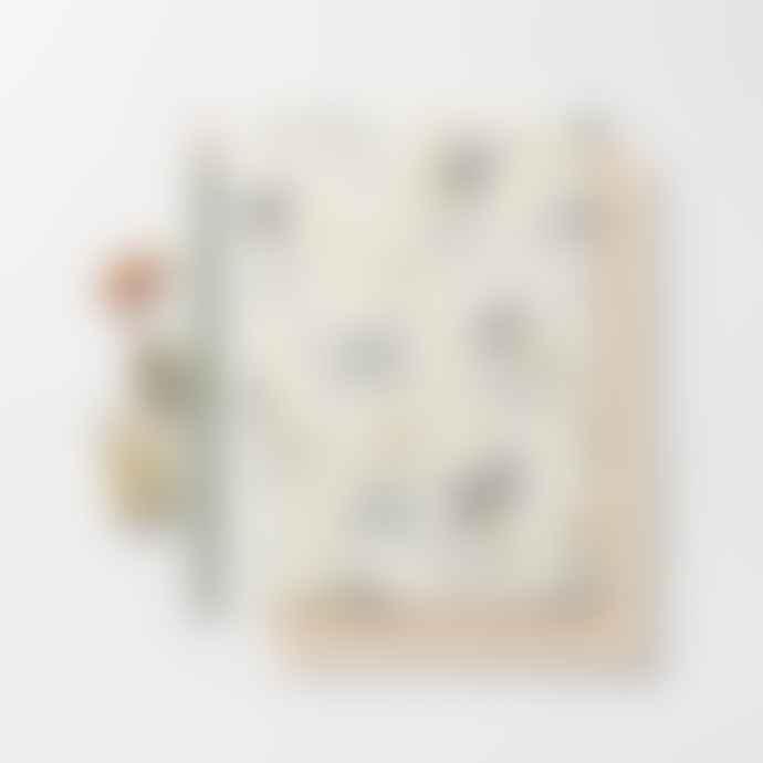 Katie Leamon  Zebra Warmest Wishes Card