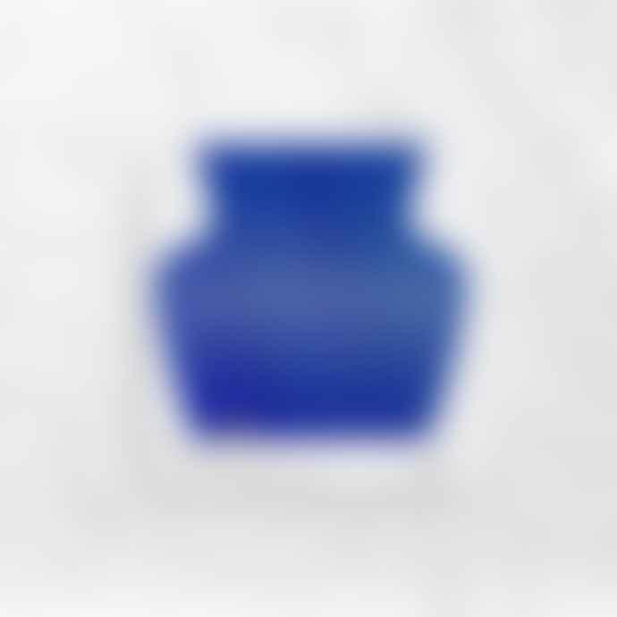 Octaevo Paper Vase Helio Perforated Blue