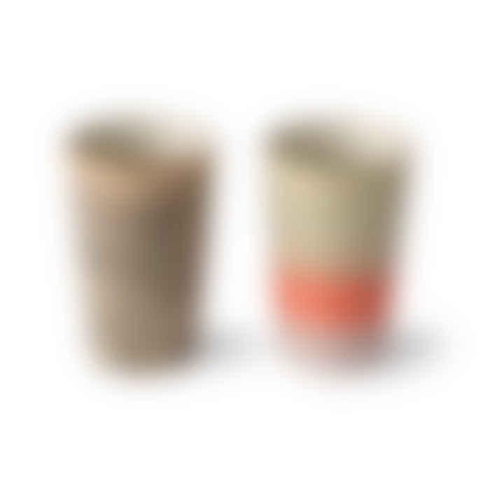 HKliving Tea Mugs Set of 2
