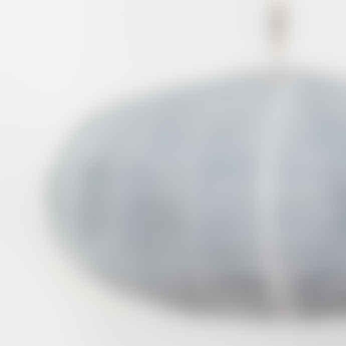 Afroart Blue Oval Lemongrass Lampshade