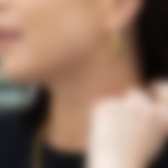 Nordic Muse Waterproof Bold Hoop Earrings, Forever Lasting Tarnish-Free 18k Gold