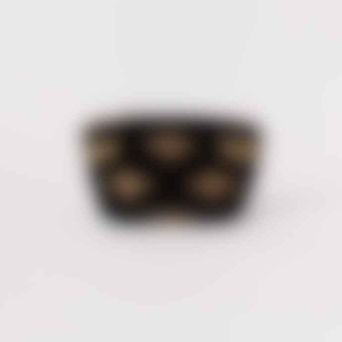 Elizabeth Scarlett Black Bee Velvet Coin Purse