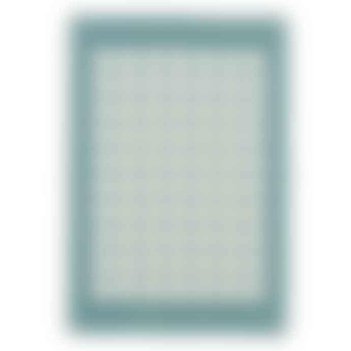Pappelina Fia Cotton Blanket Turquoise 100x140cm