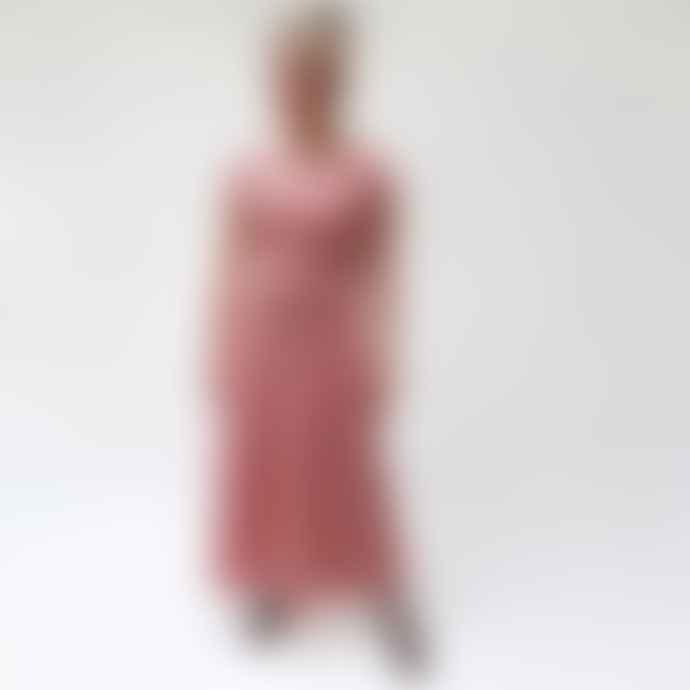 Nooki Design Kamie Burnt Siena Stripe Dress