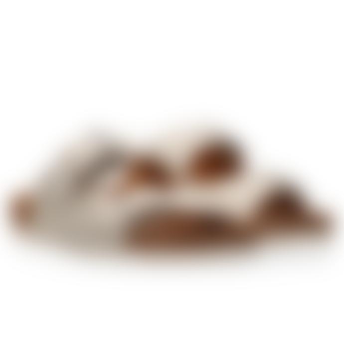 Maruti Footwear Bellona Leather Sandals White