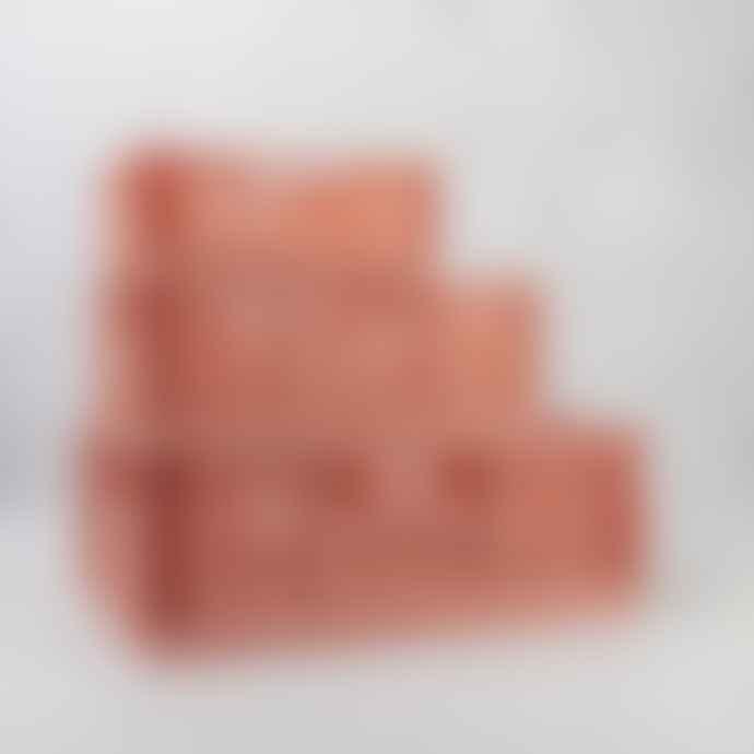 Chickidee Rust Mini Folding Storage Crate