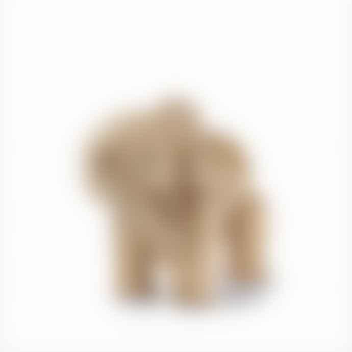 KAY BOJESEN DENMARK Mini Wooden Elephant Oak Figurine