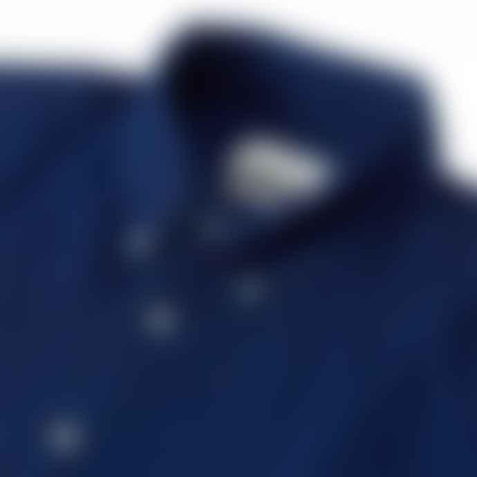 Oliver Spencer Brook Cotton Shirt Indigo Rinse