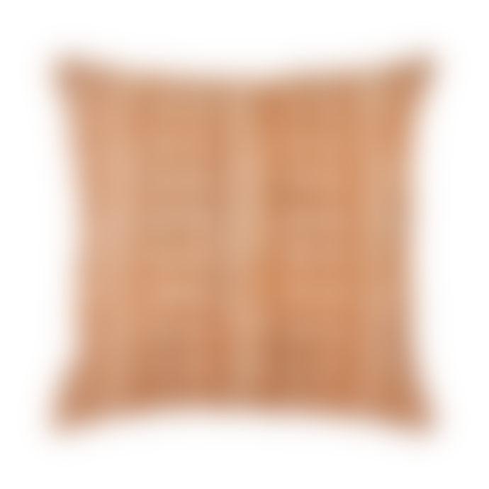 The Painted Bird Mustard Mud Cloth Cushion