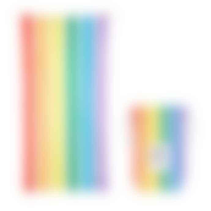 Dock & Bay Beach Towel X Large Rainbow Skies