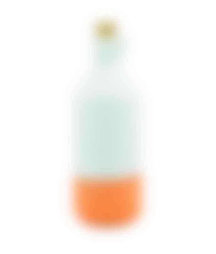 casa atlantica Glazed Terracotta Bottle White