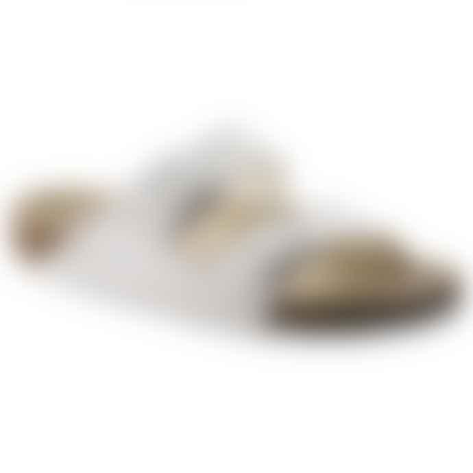 Birkenstock Arizona Birko Flor White Sandals